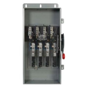 Eaton DCU3061UPM Disconnect Switch, Ungrounded, 30A, 600VDC, 3P, Non-Fusible, NEMA 4