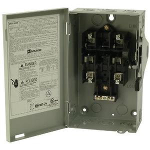Eaton DG221NGB Safety Switch, 30A, 2P, 240V, Type DG, Fusible, NEMA 1