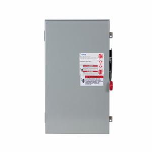 Eaton DH164NRK Safety Switch, 200A, 1P, 600VDC, HD, Fusible, NEMA 3R