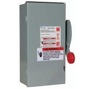 Eaton DH164URKN Disconnect Switch, 200A, 600VDC, 3P, Non-Fusible, NEMA 3R