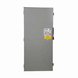 Eaton DH166NRK Safety Switch, 600A, 1P, 600VDC, HD, Fusible, NEMA 3R