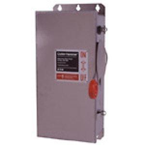 Eaton DH362UWKX Safety Switch, 60A, 3P, 600V/250VDC, HD, Non-Fusible, NEMA 4X