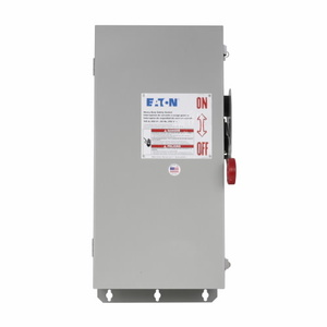 Eaton DH363FDK2WR Harsh Environment Safety Switch With Receptacle