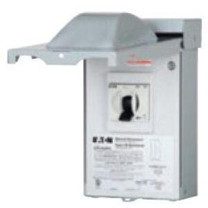 Eaton DPU362RA A/C Disconnect, 60A, 3P, 240/480VAC, Non-Automatic Switch, NEMA 3R