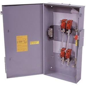 Eaton DT221UGK Safety Switch, 30A, 2P, 240VAC/250VDC, HD, Non-Fusible, NEMA 1