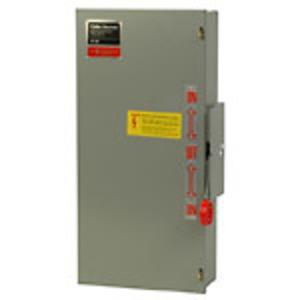 Eaton DT321FRK Safety Switch, Double Throw, Heavy Duty, 30A, 240VAC, NEMA 3R