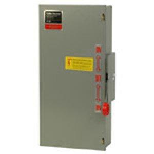 Eaton DT323FGK Safety Switch, Double Throw, Heavy Duty, 100A, 240VAC, NEMA 1