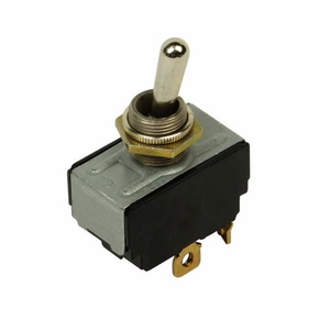 Eaton E10T215DS Toggle Switch, 2P, 3-Position, ON/OFF/ON, E10 Series, 15A, 125VAC