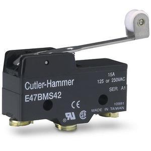 Eaton E47BMS42 Limit Switch, Compact Precision, Roller Lever