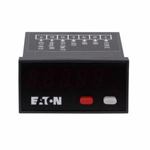 Eaton E5-324-E0402 Compact LED Panel Meter, Dc Power, 24 x 48 mm