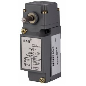 Eaton E50AR1 Limit Switch, Assembled, Side Rotary, Standard Spring Return
