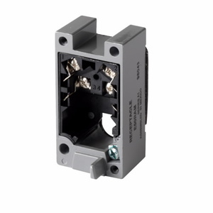 Eaton E50RAM Limit Switch Receptacle, Single Pole, Terminals