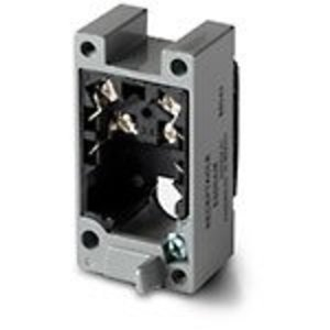 Eaton E50RBM Limit Switch Receptacle, Double Pole, Terminals
