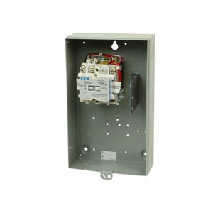 Eaton ECC03C1A4A Contactor, Lighting, 30A, 4P, NEMA 1 Enclosed, Electrically Held