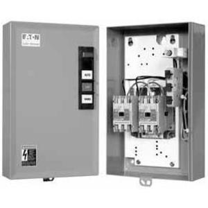 Eaton ECL03B1A3A 20A, 3P, NEMA 1 Enclosed, Electrically Held