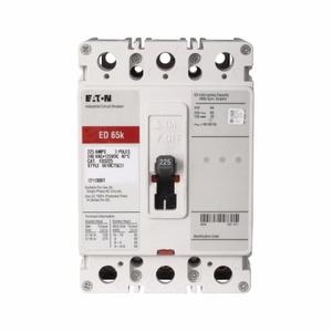 Eaton ED3110 Breaker, Molded Case, 3P, 110A, 240VAC, 125VDC, 65kAIC, Load Lugs