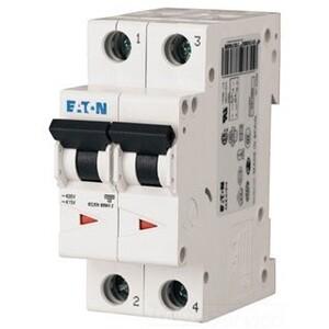 Eaton FAZ-C20/2 20A, 2P, 277/480V,48VDC, 10 kAIC, C-Curve, UL1077 CB