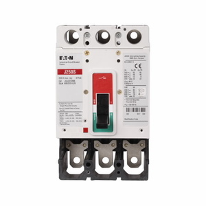 Eaton JGS3225FAG Breaker, Molded Case, 3P, 225A, 480VAC, 250VDC, 25kAIC