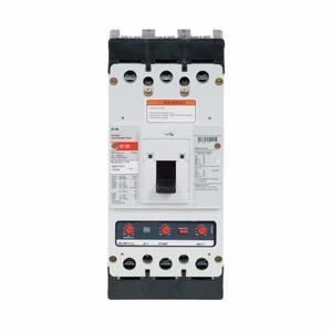 Eaton KDB3400 400A, 3P, 600V, 250 VDC, 35 kAIC, Type KD CB