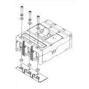 Eaton KPEKM3 End Cap Kit, Termination Hardware, 3P, K-Frame, Metric