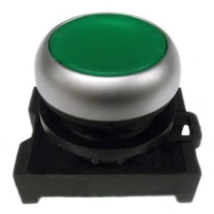Eaton M22-DL-G Pushbutton, Flush, Green, M22, Operator Only, Illuminated