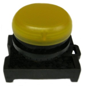 Eaton M22-L-Y 22mm Indicator Light, Yellow, M22
