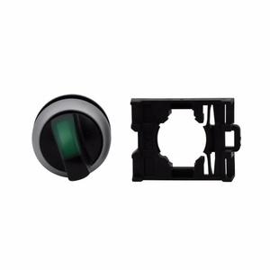 Eaton M22-WLK3-G 22mm Selector Switch, Knob Type, Green, M22