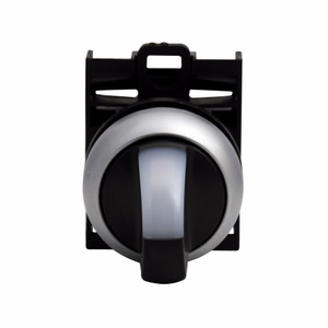 Eaton M22-WLK3-W 22mm Selector Switch, Knob Type, White, M22