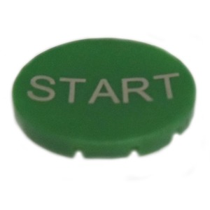 Eaton M22-XD-G-GB1 Component Button Plate, Green, M22