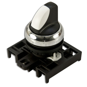 Eaton M22M-WKV 22mm Selector Switch, Knob Type, Metal, M22
