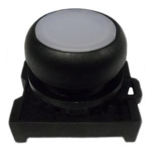 Eaton M22S-DL-W Flush Pushbutton, White, M22