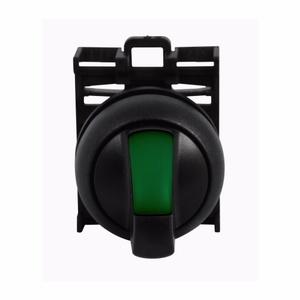 Eaton M22S-WRLK-G 22mm Selector Switch, Knob Type, Green, M22