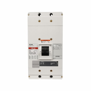 Eaton ND3800T33W Breaker, Molded Case, Electronic Trip, 3P, 800A, 600VAC, Frame