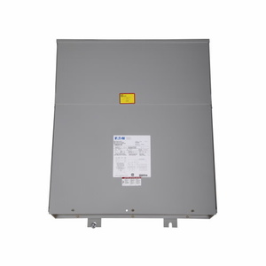 Eaton P48G28T15CUB Power Center, 15KVA, 480VAC Primary, 208Y/120VAC Secondary, NEMA 3R
