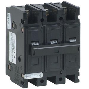 Eaton QC3030H Breaker, Lug in/Lug Out, 3P, 30A, 240VAC, 10kAIC
