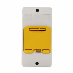 Eaton XTPBXENASLO65 Enclosure, Insulated, XTPB, Pushbutton, MMP, Lockable
