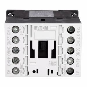 Eaton XTRE10B31A Relay, Control 16A, 120VAC Coil, 4P, 500VAC Rated, Screw Terminal