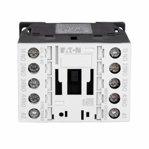 Eaton XTRE10B40A Relay, Control 16A, 120VAC Coil, 4P, 500VAC Rated, Screw Terminal