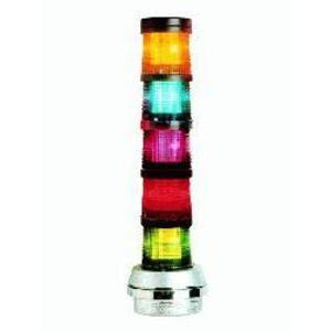 Edwards 101FINHA-N5 Stack Light, Flashing, Amber