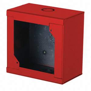 Edwards 276B-RSB Surf Mount Back Box, Red