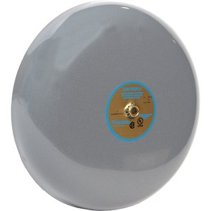 "Edwards 435-10G1 Vibrating Bell, 24VDC, General Alarm, 10"", Gray"