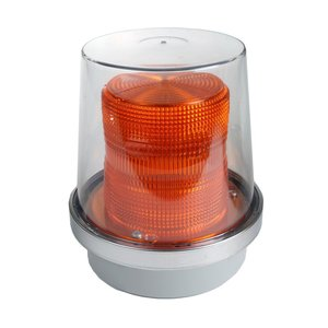Edwards 49A-N5-40WH Flashing Halogen Beacon, Amber