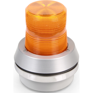 Edwards 51A-N5-40W Beacon With Horn, Type: Incandescent Flashing, 120V AC, 0.29A, Amber