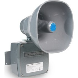 Edwards 5531M-120N5 Sounder, Multi-Tone, 120VAC, .10A, 110 dB @ 10', NEMA 3R, Gray