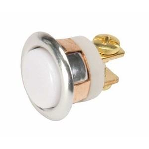 Edwards 620-B Push Button, Low Volatage, Non-Illuminating, Panel Mount