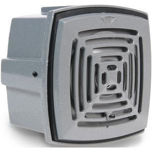 Edwards 877-G1 Vibrating Horn, 24VDC, 0.16A, 101dB @ 10', NEMA 4X, Die Cast