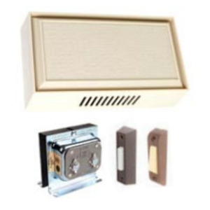 Edwards C212-W Chime Kit, Two-Entrance, Wired, White, 16VAC