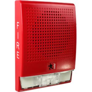 Edwards EG4RF-S7VM Wallspkr Str 70v Red Edw Fire