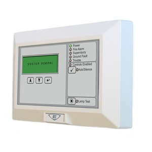 Edwards ERLCDC Remote Text Annunciator
