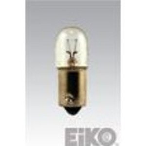 Eiko 755 Miniature Incandescent Lamp, Indicator, T3-1/4, .15A, 6.3V